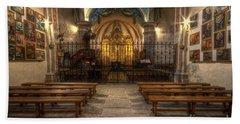 Baroque Church In Savoire France 4 Beach Sheet