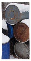 Beach Sheet featuring the photograph Barrel Of Food by Tiffany Erdman