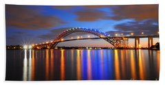 Bayonne Bridge Beach Towel