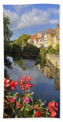 Beautiful Tuebingen In Germany Beach Towel