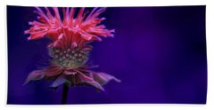 Bee Balm Beach Towel