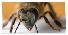 Bee In Macro 4 Beach Towel