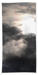 Beneath The Clouds Beach Towel by James Barnes