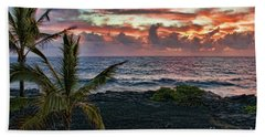 Big Island Sunrise Beach Towel