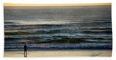 Beach Sheet featuring the photograph Big Ocean  by Eric Tressler