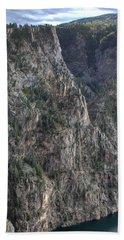 Black Canyon Of The Gunnison National Park Beach Sheet
