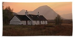 Black Rock Cottage Sunset Beach Towel