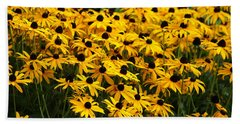 Blackeyed Susan Beach Sheet