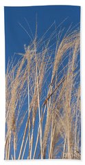 Beach Towel featuring the photograph Blowing In The Wind by Barbara McMahon