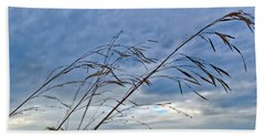Blowing In The Wind Beach Towel by Tikvah's Hope
