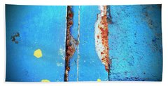 Blue Abstract Beach Sheet