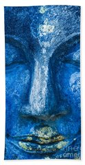Beach Sheet featuring the photograph Blue Buddha  by Luciano Mortula
