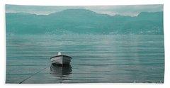 Blue Fjord Beach Towel