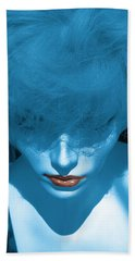 Blue Kiss Beach Towel