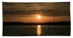 Bodega Bay Sunset II Beach Sheet