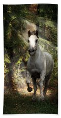 Breaking Dawn Gallop Beach Towel by Wes and Dotty Weber