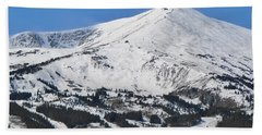 Breckenridge Peak 8 Beach Towel