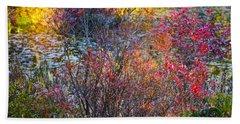 Bright Autumn Light Beach Sheet
