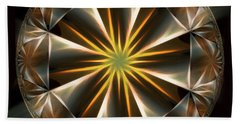 Bright Star Beach Towel by Danuta Bennett
