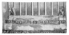 Buchanan Inauguration Beach Towel
