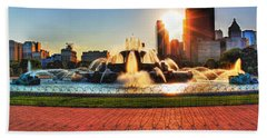 Buckingham Fountain Beach Sheet