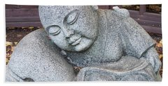 Beach Towel featuring the photograph Buddha by Chalet Roome-Rigdon