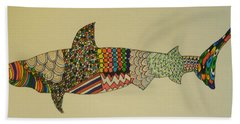 Bull Shark Beach Towel