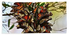Butterfly Bouquet Beach Towel