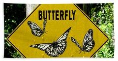 Butterfly Crossing Beach Sheet