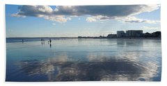 Beach Towel featuring the photograph By The Sea In Maine by Nancy Griswold