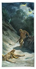 Cain And Abel Beach Towel