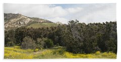 California Hillside View IIi Beach Towel