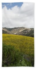 California Hillside View V Beach Towel