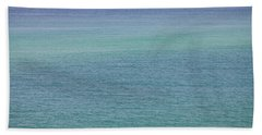 Calm Waters Beach Sheet by Toni Hopper