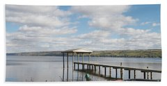 Beach Towel featuring the photograph Calm Waters by William Norton