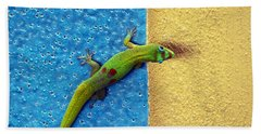 Can You See Me Now Beach Towel by Patricia Griffin Brett