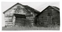 Beach Towel featuring the photograph Canadian Barns by Jerry Fornarotto