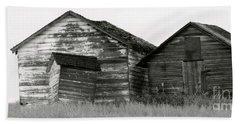Canadian Barns Beach Sheet by Jerry Fornarotto