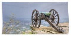 Cannon 2 Beach Sheet by David Troxel