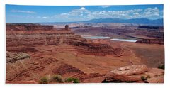 Canyonlands Beach Sheet by Dany Lison