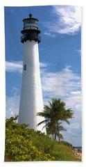 Cape Florida Lighthouse Beach Towel