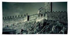 Castelgrande Bellinzona Beach Sheet by Joana Kruse