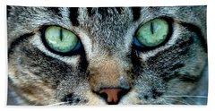 Cat Face Beach Sheet