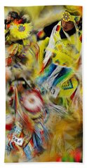 Beach Towel featuring the photograph Celebration Of Nations by Vicki Pelham