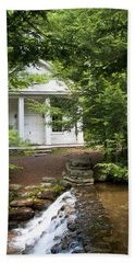 Chapel At Hickory Run State Park Beach Towel