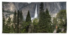 Chapel In The Valley Beach Towel