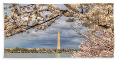 Cherry Blossoms Washington Dc 4 Beach Sheet