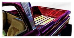 Chevy Custom Truckbed Beach Towel