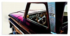 Chevy Pickup Beach Towel