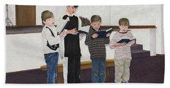 Children Sing Praise Beach Towel